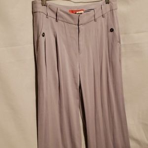 Cartonnier (Anthropologie) WideLeg Gray Pants Sz 4